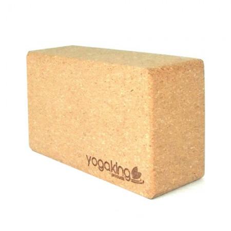 Cork Yoga Block at Yoga Bazaar