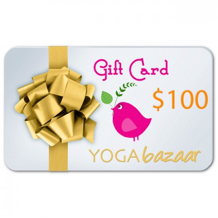 Yoga Bazaar Gift Card $100