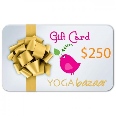 Yoga Bazaar Gift Card $250
