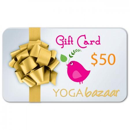 Yoga Bazaar Gift Card $50