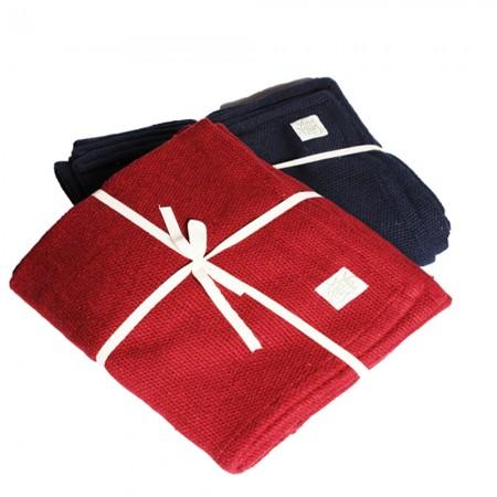 Thick Organic Cotton Blanket at Yoga Bazaar
