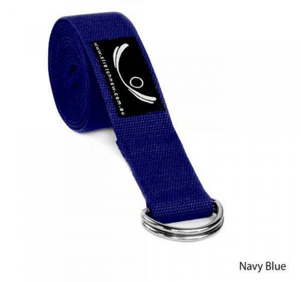 yoga-strap-navy-blue