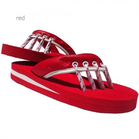 Yoga Sandals Red at Yoga Bazaar