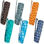 yoga mat bag patterned