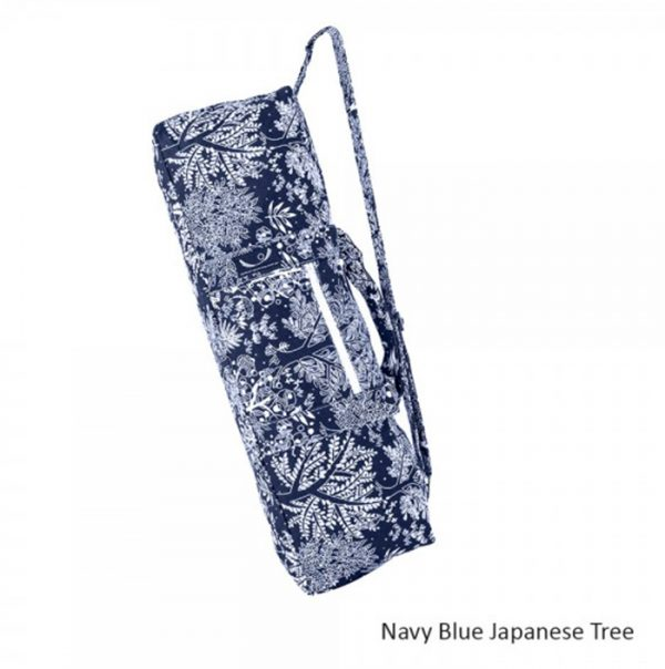 yoga-mat-bag-navy-blue-japanese-tree