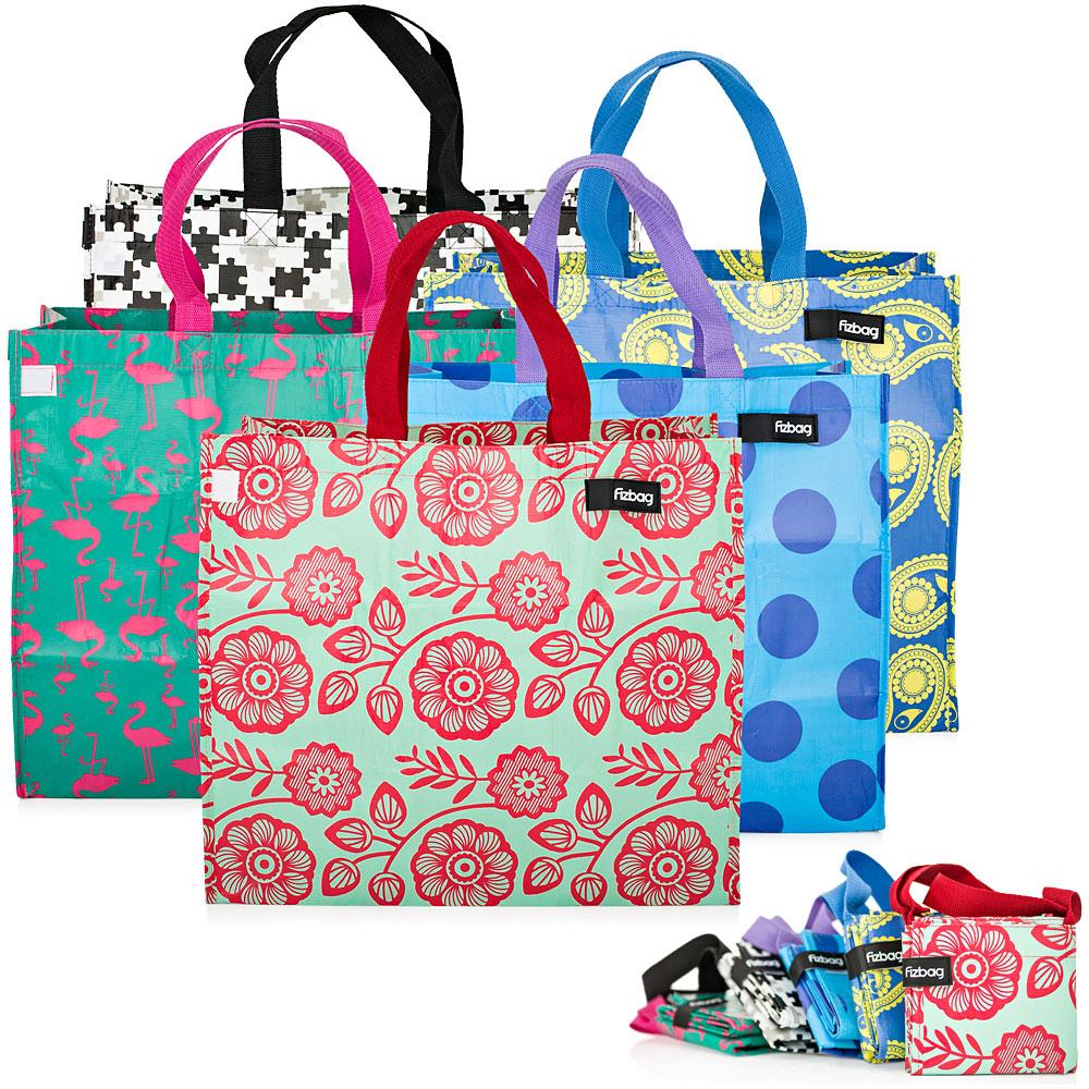 Recycled Plastic Big Shopper Bag