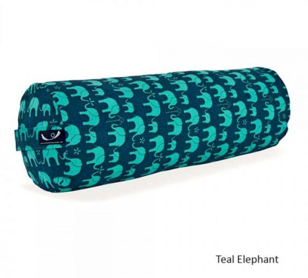 yoga-bolster-teal-elephant