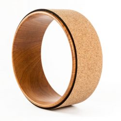 yoga wheel wood