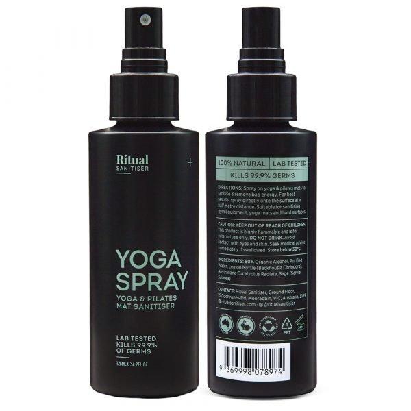 yoga mat sanitiser